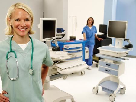 Workstation on Wheels | ASR Healthcare