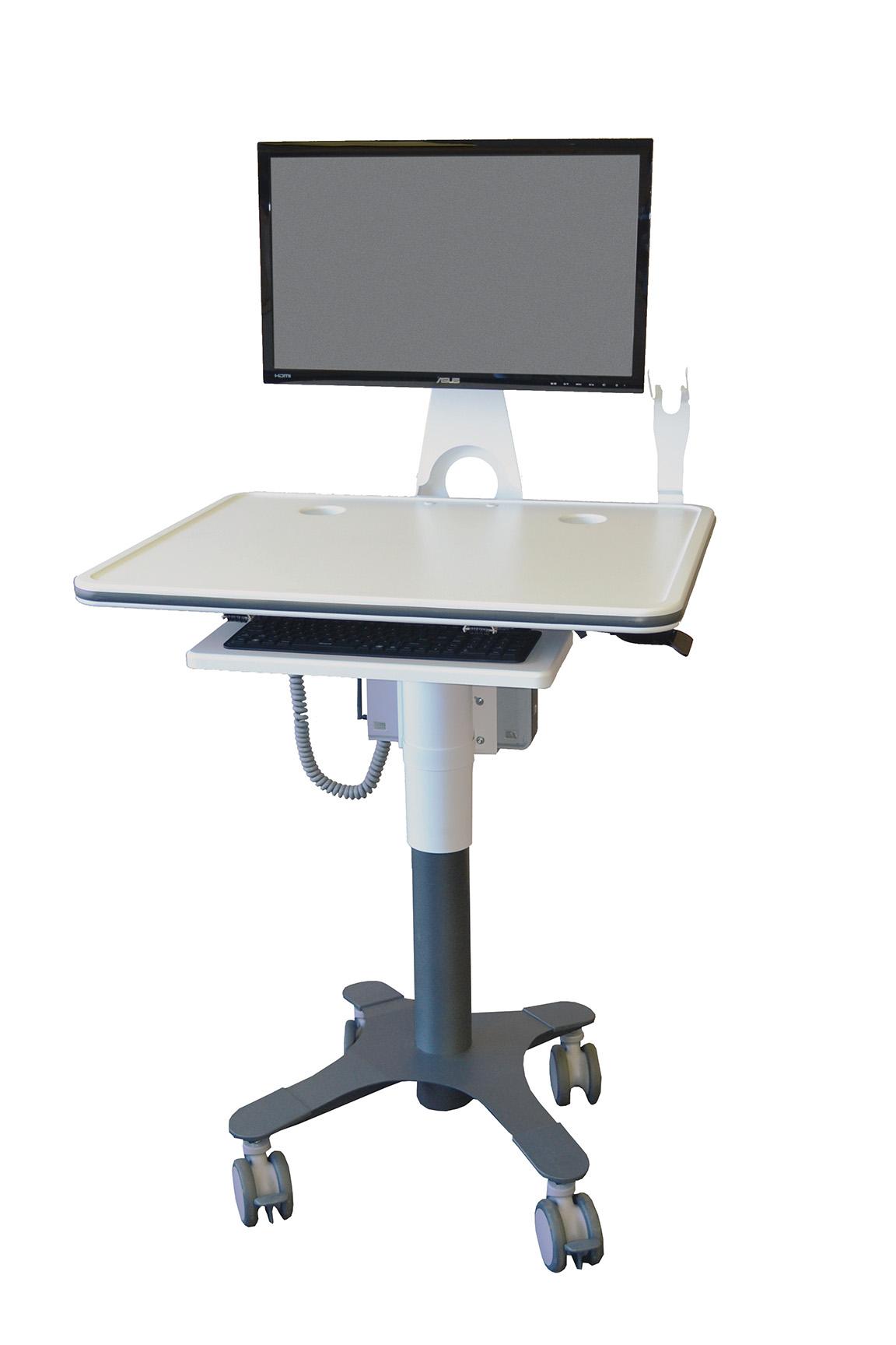 computer on wheels asr healthcare. Black Bedroom Furniture Sets. Home Design Ideas