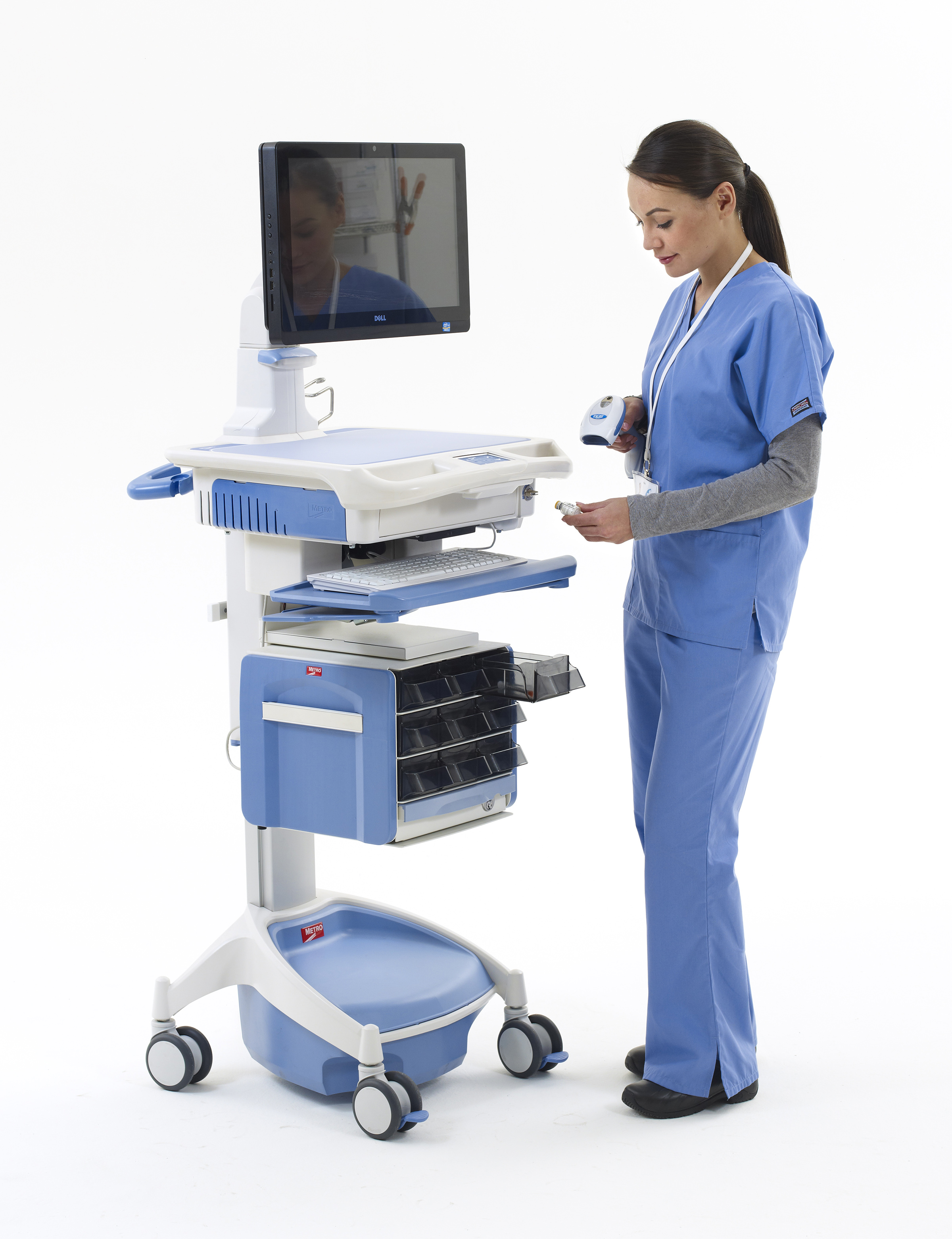 How Medical Cart Computers Inspire Patient Trust | Rugged Tech ...
